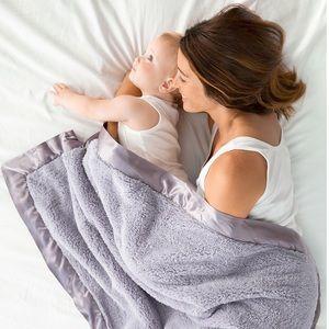 Little Giraffe Super Soft Chenille Baby Blanket